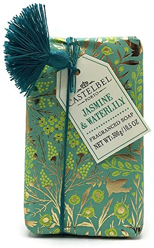Castelbel Jasmine   Waterlily Luxury Soap   10 5 Oz Large Bar