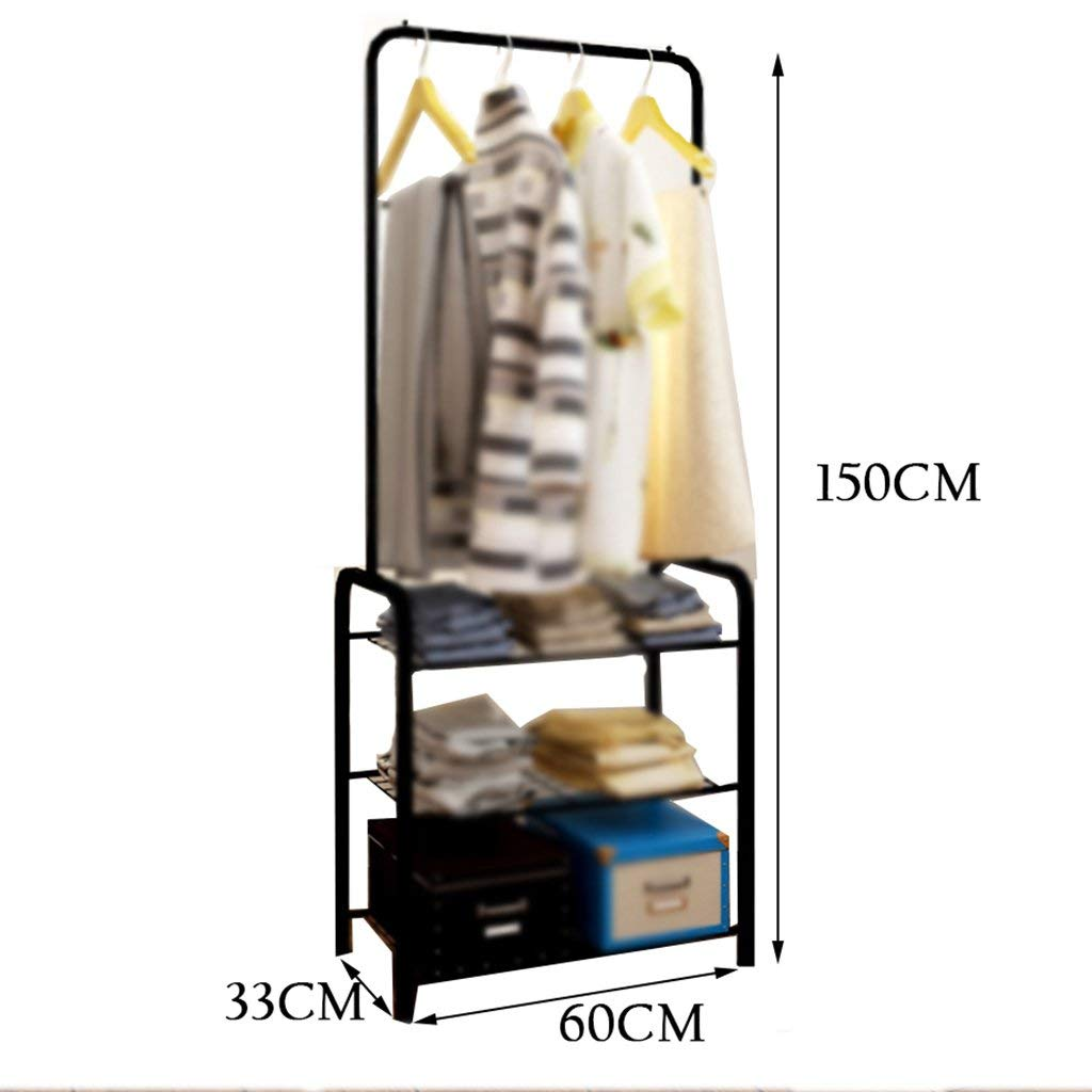 SED Coat Rack-Hanger Floor Bedroom Simple Set The Hanger Economical European Style Sturdy Space Saving Storage Rack,C by SED (Image #1)