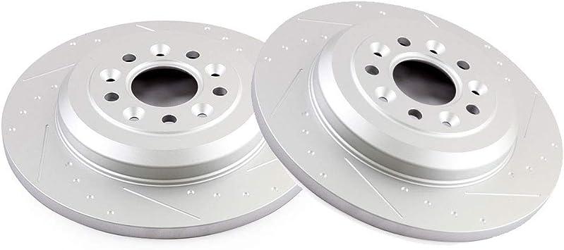OE Replacement 2005 2006 2007 Mercury Montego Rotors Ceramic Pads F+R