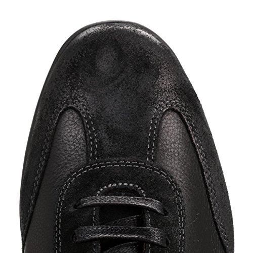 Tommy Hilfiger Herren Schwarz Oliver 14C Leder Sneakers