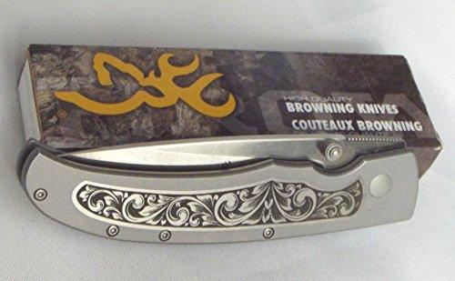 - Browning Sage Brush Scroll Folding Knife