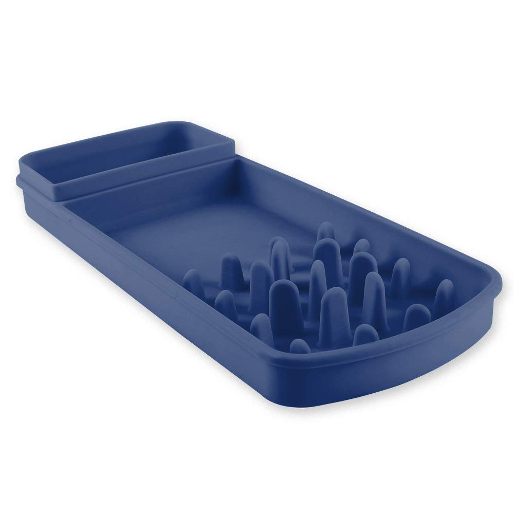 Interactive Bloat Stop Anti-Gulping Non Toxic Eco-Friendly Healthy Design Dog Bowl Cat Bowl Slow Feeder Famobest Slow Feed Pet Bowl for Dogs Cats