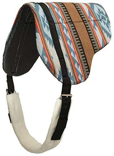 Weaver Leather Herculon Bareback Pad with Tacky-Tack Bottom