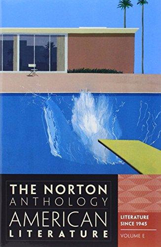 Norton Anthology of American Literature: V. 2 (C, D & E)