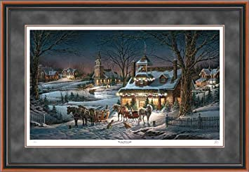 evening rehearsals terry redlin artist proof framed print limited edition of 950 signed numbered