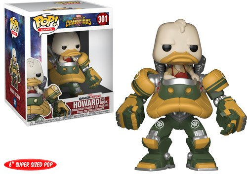 Funko Pop! Games: Marvel - Contest of Champions - Howard The Duck Collectible Figure 5 Time Champions Collectible Football