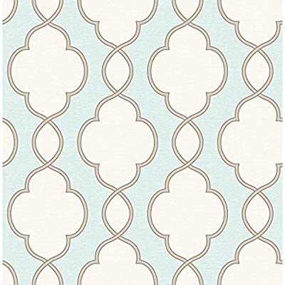 A - Street Prints Symetrie Structure Chain Link Wallpaper