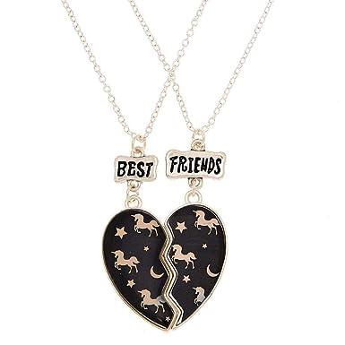 hot-vente dernier sélectionner pour dernier prix de gros Claire's - Femmes Lot de 2 colliers best friends à pendentif ...