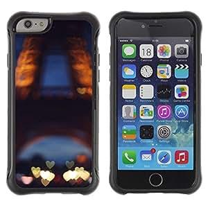 LASTONE PHONE CASE / Suave Silicona Caso Carcasa de Caucho Funda para Apple Iphone 6 PLUS 5.5 / Love Paris France Eifel Tower Tour