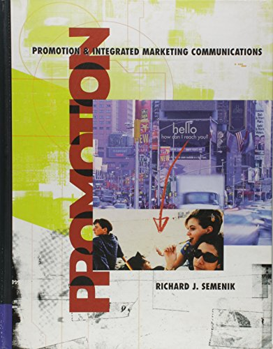 Pkg Promotion & Integrated Marketing Comm + Infotrac