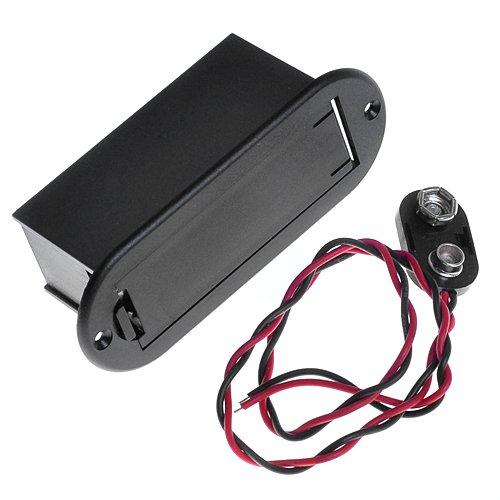 Kmise A1032 Belcat 9V Battery Holder Case for Active Guitar Bass Pickup