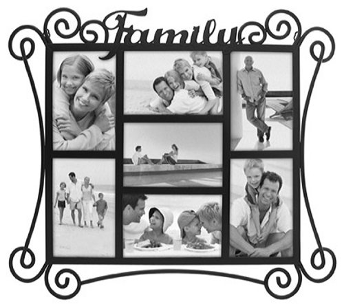 Malden Home Profiles Hp3014 70 Family Metal Collage Picture Frame