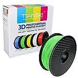 TIANSE Cyan Palegreen PLA 3D Printer Filament 1.75mm 1KG Spool Filament for 3D Printing, Dimensional Accuracy +/- 0.03 mm