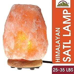 Himalayan Glow Extra-Large Salt Lamp, Rare Limited Edition, 25-35 lbs