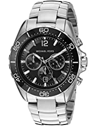 Michael Kors Mens Winward Silver-Tone Watch MK8423