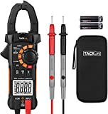 Clamp Meter, CM05 Clamp Multimeters, 6000 Counts,AC/DC Voltage Tester, AC Current Detector, AC Signal Frequency, VFC, NCV, Resistor, Capacitor, Diode, Duty Cycle, Continuity Tester