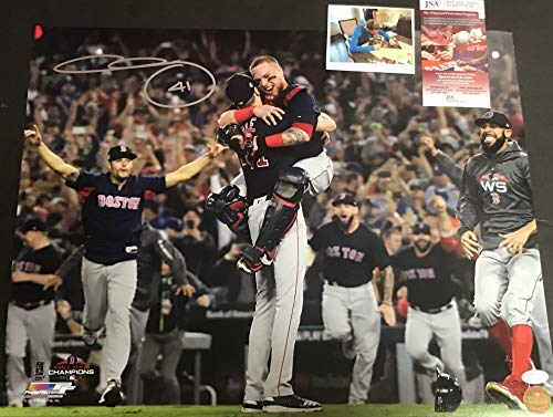 Chris Sale Boston Red Sox Autographed Signed 2018 World Series 16x20 JSA WITNESS COA (Sports Photographs)