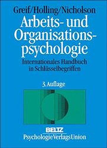 arbeits-und-organisationspsychologie