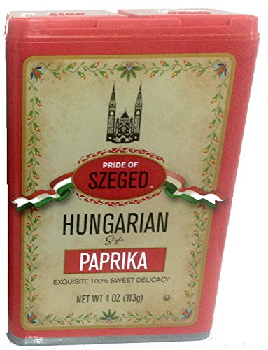 - Szeged Hungarian Paprika - 4ounces (Pack of 3)