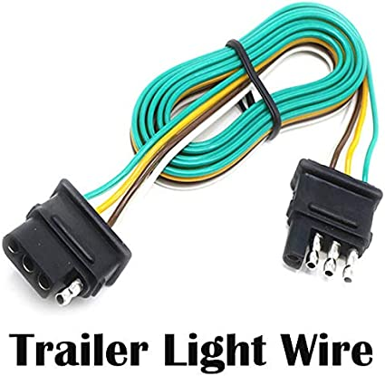 [SCHEMATICS_48EU]  Amazon.com : Seapon Trailer Light Wire, 5ft (1.5m) Wire Harness for Led  Stop Turn Tail License Brake Running Light Lamp, Cable Wiring for Boat  Trailer Truck Marine Camper Rv Cargo Taillight Tail | Camper Wire Harness |  | Amazon.com