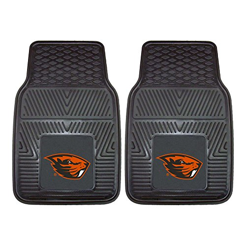 (FANMATS NCAA Oregon State University Beavers Vinyl Heavy Duty Car Mat)