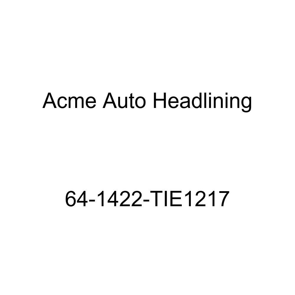 Acme Auto Headlining 64-1422-TIE1217 Ginger Replacement Headliner Chevrolet Corvair 2 Door Club Coupe 5 Bow