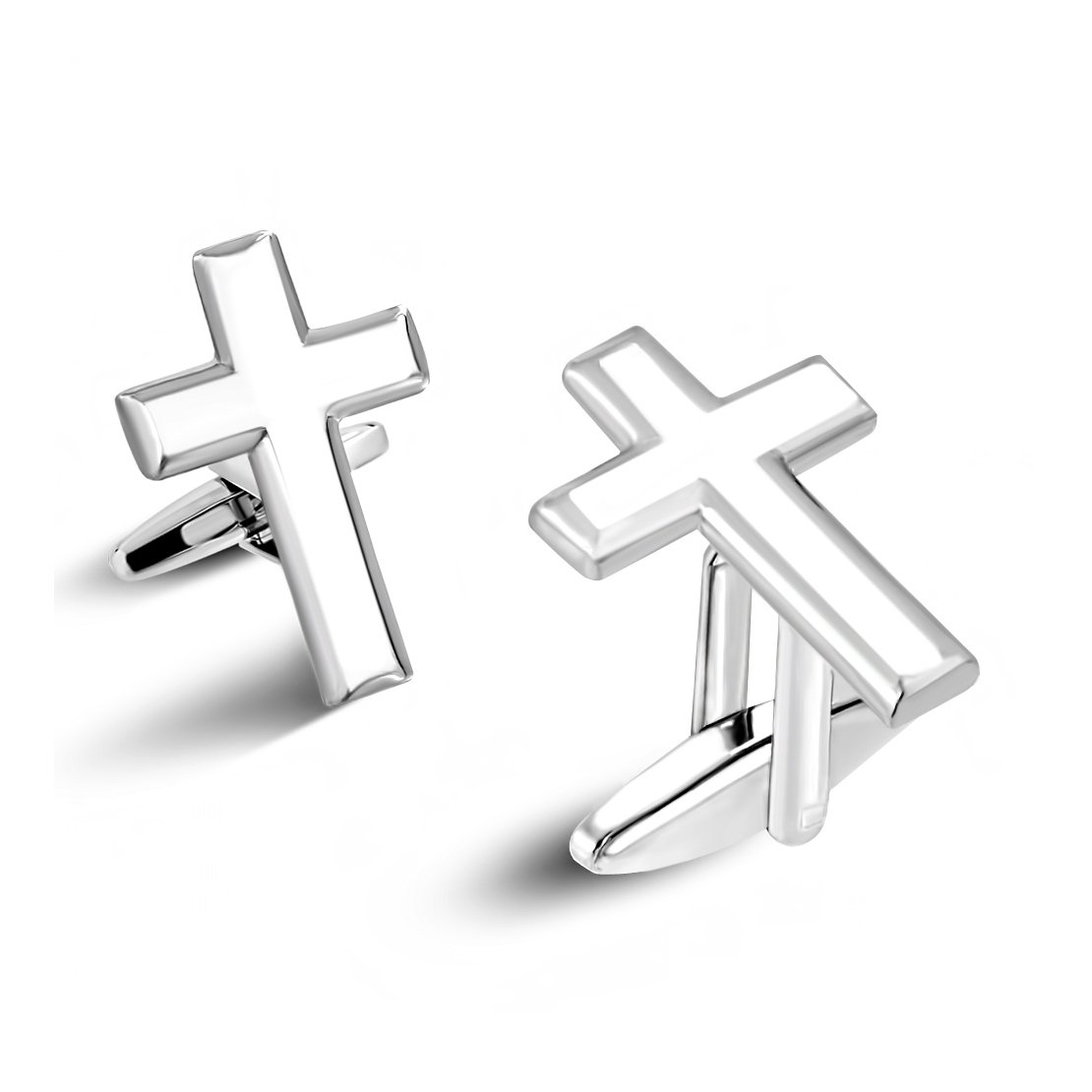Fashion Copper Latin Cross Mens Cufflinks (pair) NRG Jewelry