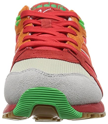 Adults' 160827 Diadora Verde Rosso Low Top Unisex Uwnxq56Eqa