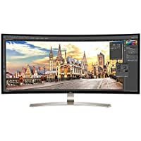 38UC99-W 37.5 LG Curved 4K UltraWide 21:9 LED LCD IPS Gaming Monitor w/USB-C Port (Certified Refurbished)