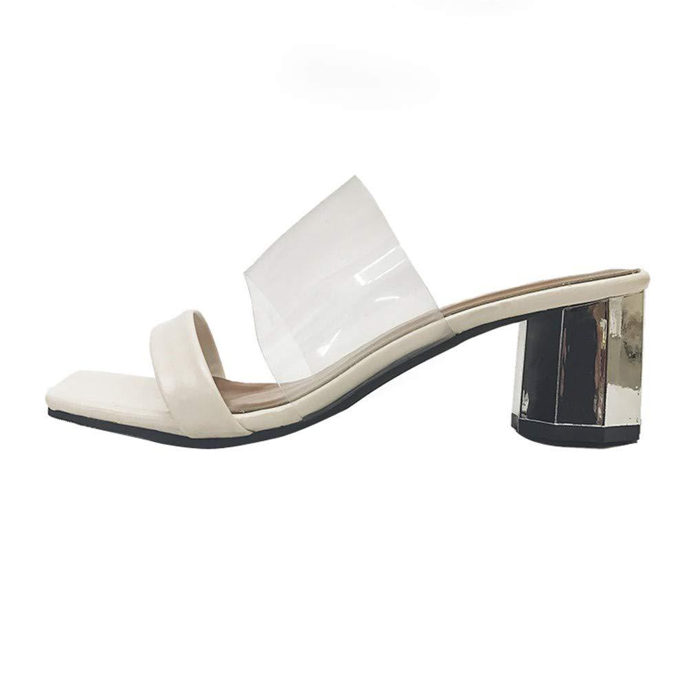 YUCH Les Chaussons pour White pour Femmes Portent des Chaussures D Femmes Étudiant Transparentes White 05daeab - reprogrammed.space