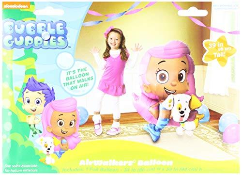 Anagram A1102 5 Bubble Guppies Airwalkers Foil Balloon, 39