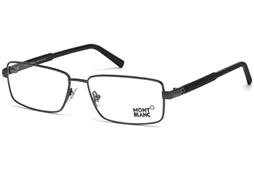 179e292541 Image Unavailable. Image not available for. Color  Eyeglasses Montblanc MB  629 MB 0629 008 shiny gumetal