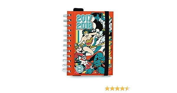 Grupo Erik Editores Dc Comic Originals - Agenda escolar 2017/2018 dia página
