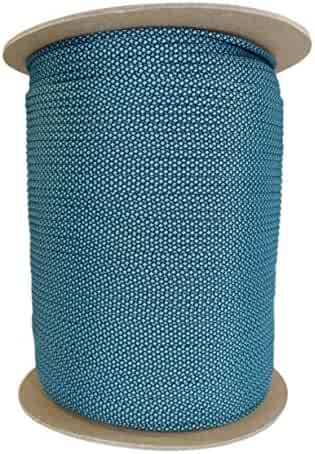 SGT KNOTS Paracord 550 Type III 7 Strand - 100% Nylon Core and Shell 550 lb Tensile Strength Utility Parachute Cord for Crafting, Tie-Downs, Camping, Handle Wraps (4mm - 100, 200, or 1000 feet)