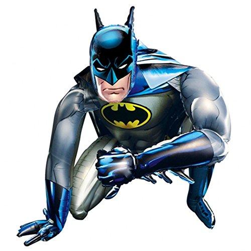 Anagram Giant Batman Airwalker 36-Inch 91Cm Foil Balloon Life Size Inflatable Air Walker Bat-Man Boys Birthday Party Gift Present Superhero Dc Comics Hero]()