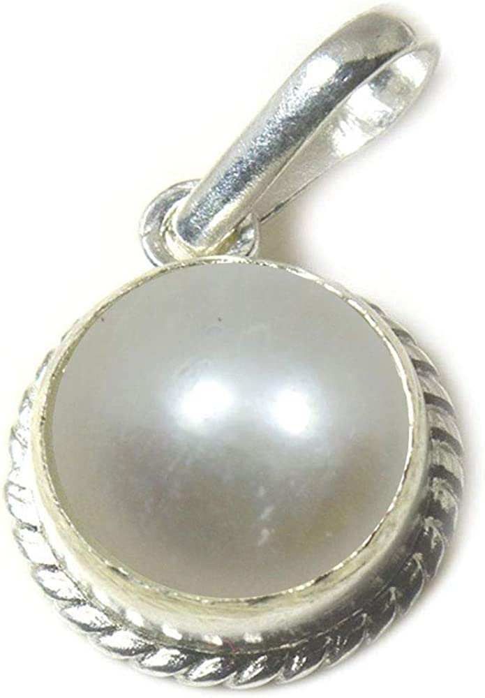 55Carat CHOOSE YOUR COLOR 2 to 10 Carat Round Shape Natural Gemstones Silver Pendant HandCrafted Locket