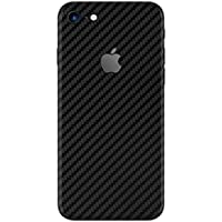 Gadgets Wrap 37-5FPJ-OL78 Carbon Fiber Skin Sticker for Apple iPhone 7 (Black)