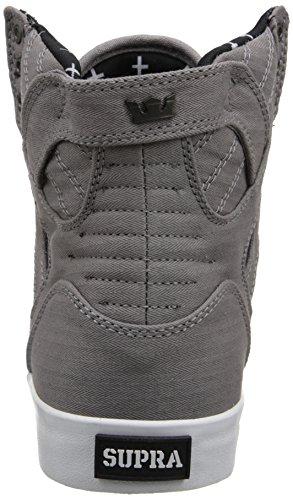 Supra Skytop Medium Sneaker Grau / Mikro-Fischgrät