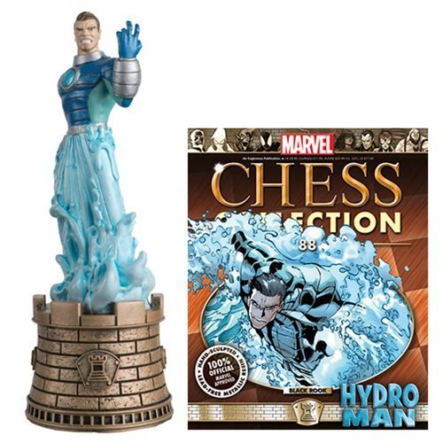 (Marvel Amazing Spider-Man Hydroman Black Rook Chess Piece with Magazine)