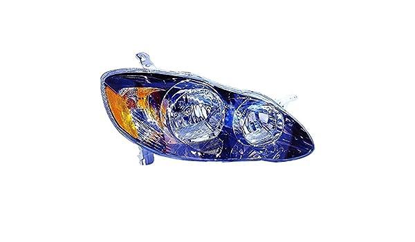 Fits TOYOTA COROLLA 2005-2008 Headlight Right Side 81110-02370 Car Lamp