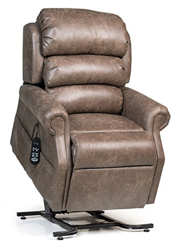 - StellarComfort UC550-L Tall Zero Gravity Lift Chair Recliner with Comfort Coil Seating - Silt (Curbside Delivery)