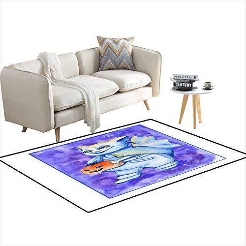 Room Home Bedroom Carpet Floor Mat bat a