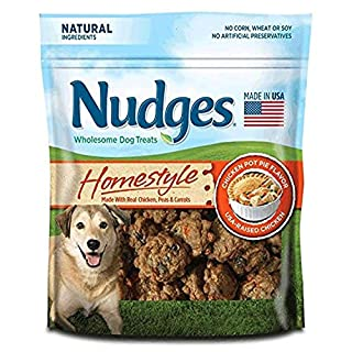 Nudges Homestyle Chicken Pot Pie Dog Treats, 16 oz (014135-2313)