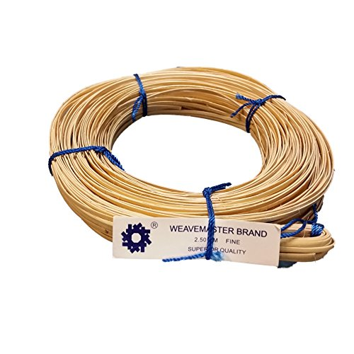 (270' Coil of Cane with a Binder Strip, Choose Your Size: Superfine 2mm, Fine-fine 2.25mm, Fine 2.5mm, Narrow-medium 2.75mm, Medium 3mm (Fine 2.5mm))