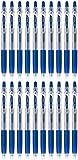pilot juice blue black - Pilot Juice 0.38mm Gel Ink Ballpoint Pen, Blue Black Ink, Value Set of 20