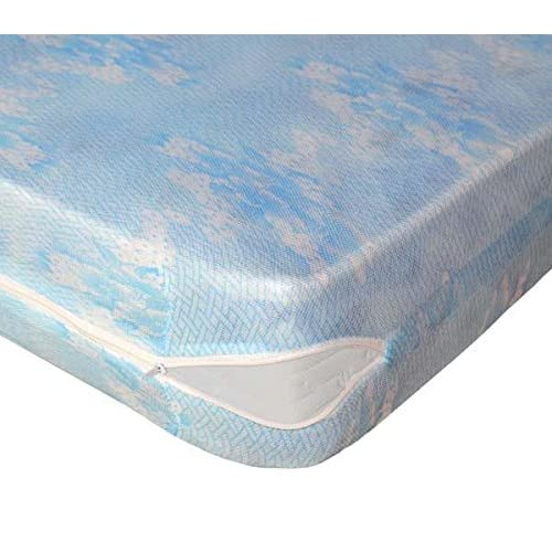 Lovely Casa RM34825001 Sieste Rénove Protège Matelas Extensible Polyester Maille 200 x 160 x 10 cm