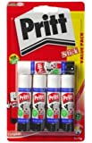 Pritt 1483489 Glue Stick,Small(Pack of 5)-White