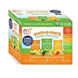 NurturMe Yum-A-Roo's Organic Toddler Snacks (0.25 oz.,15 ct.) (pack of 6)