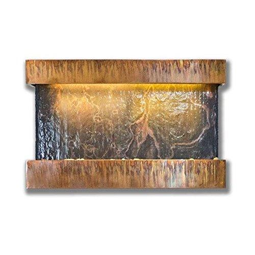Buy bluworld horizon falls indoor wall fountain medium