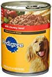 Pedigree Meaty Ground Dinner with Chunky Beef Food for Dogs, 13.2-Ounce Cans (Pack of 24), My Pet Supplies